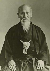 O'sensei Morihei Ueshiba 1883-1969.