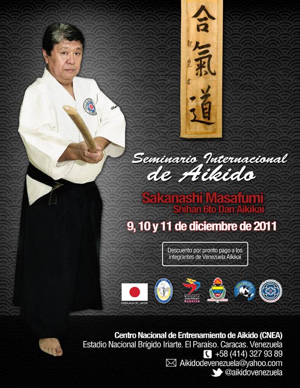 Seminario Internacional, impartido por el Shihan Sakanashi Masafumi 6° Dan